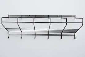 friso kramer black wire wall mount coat rack for t u0027 spectrum