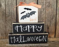 happy halloween sign etsy