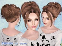 sims 3 hair custom content sims 3 custom content skysims 228 hair for females