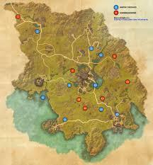 Elder Scrolls World Map by Grahtwood Skyshards Map Elder Scrolls Online Guides