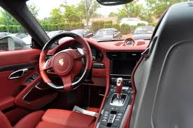 porsche red interior my carrera s with carbon interior 1st in the us page 2