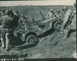 white jeep stuck in mud advanced search the digital collections of the national wwii