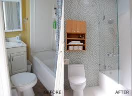 home design before and after manificent lovely small bathroom remodels before and after