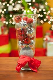 Ball Table Decorations Gorgeous 25 Red And Silver Christmas Table Decorations Design