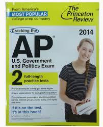 cracking the ap u s government u0026 politics exam 2014 edition