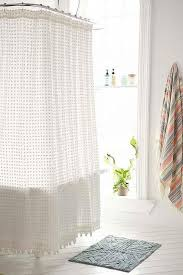 Sheer Shower Curtains Great White Shower Curtains And Sheer Shower Curtain Saveemail