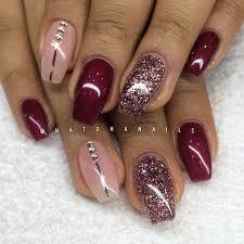 25 dark red nails ideas dark nails dark