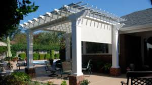 pergolas and pergola kits with retractable canopy
