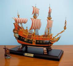 beautiful disneyland fantasyland pirate ship replica to be