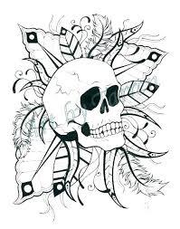 printable coloring pages sugar skulls free printable sugar skull coloring pages sugar skull coloring page