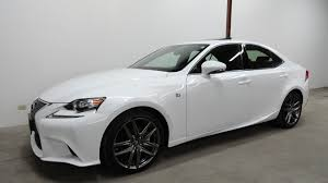 black lexus 2015 2015 lexus is250 awd sedan f sport package low miles mint