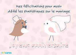 mariage humoristique carte anniversaire les statistiques sur le mariage 123 cartes