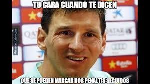 Memes Sobre Messi - los memes del penal fallado de lionel messi y la goleada del
