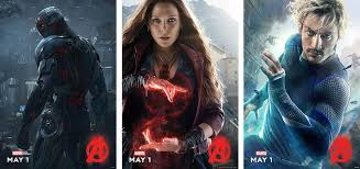 quicksilver movie avengers ultron scarlet witch and quicksilver character posters for avengers