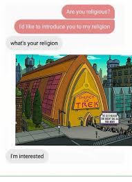 Make Your Own Fry Meme - futurama meme religion trek interested on bingememe