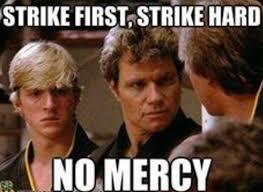 Meme Karate - the karate kid monday coming at you like facebook
