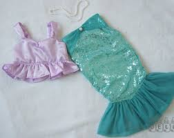 Mermaid Halloween Costume Toddler Kids U0027 Costumes Etsy
