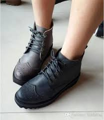 s boots lace jeffrey cbell genuine leather vintage ankle boots lace up