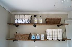 Ideas For Laundry Room Storage Diy Laundry Room Storage Ideas Pipe Shelving