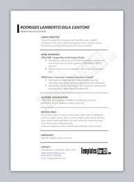 Medical Doctor Resume Example Cover Letter Doctor Resume Templates Free Doctor Resume Templates