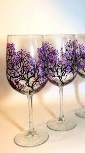 beautiful wine glasses painted wine glass designs just beautiful set of 2 large wine