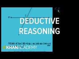 ca geometry deductive reasoning video khan academy