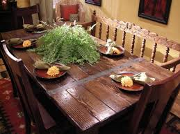 Dining Table With Food Build A Dining Table From Salvaged Materials Hgtv