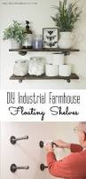 Wall Decor Above Couch by Shelve The Idea Diy Industrial Farmhouse Floating Shelves Awesome