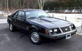 Mustang Car Black Black 1983 Ford Mustang Gt Hatchback Mustangattitude Com Photo