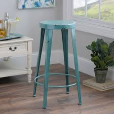blue bar stools kitchen furniture blue metal bar stool kirklands