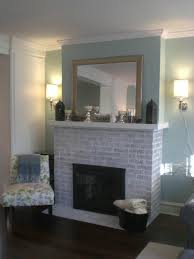 accessories brick fireplace with fireplace sconces and pattern