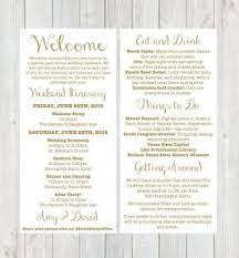 destination wedding itinerary wedding weekend itinerary template template business