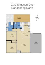savoy floor plan 2 30 simpson drive dandenong north savoy real estate