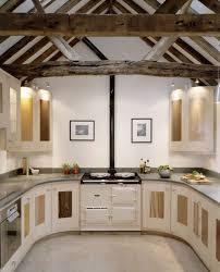 kitchen design orange accent small u shaped kitchen design with