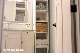 tall white cottage cabinet diy this mamas dance