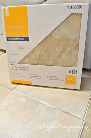 Groutable Vinyl Floor Tiles by 92 Best Peel And Stick Tile Images On Pinterest Vinyl Tiles