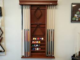 pool table wall rack kincaid billiards new pool tables setup and installed
