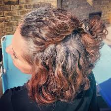 how to bring out gray in hair looks like mine growing out it seems to take longer to see the