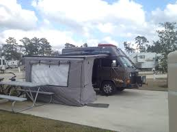 Fiamma Awning Walls The Room And Awning Features On Our Hightop Vanagon It U0027s Not A