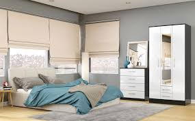 bedroom furniture white high gloss interior design