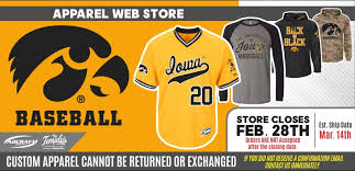 iowa baseball winter 2016 adcraftwebstores