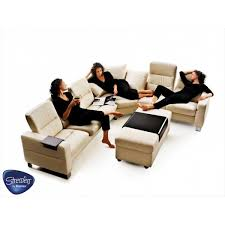 ekornes sectional sofa stressless wave sectional center corner tema contemporary