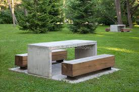 Concrete Table And Benches Creative Of Park Tables And Benches Baldwin Lawn Furniture Tables
