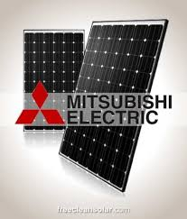 pv electric 7 4kw mitsubishi electric solar kit pv mle265hd power one inverter