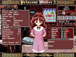 Princess Trainer Game - hardcore gaming 101 princess maker 2