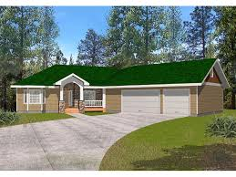 House Plans Angled Garage Fox Run Country Ranch Home Plan 088d 0281 House Plans And More