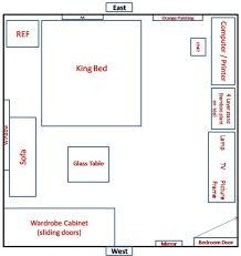 feng shui bedroom layout home design ideas