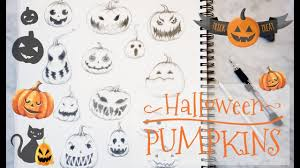 drawing halloween pumpkins halloween pumpkin craving ideas