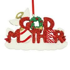family godparents godchildren treasured ornaments