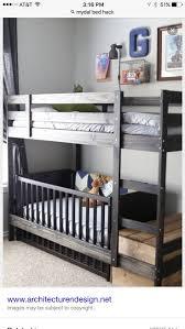 crib bunk bed ikea hack creative ideas of baby cribs